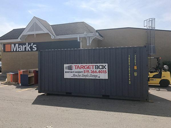 Portable Storage for Retail Spaces - TargetBox Ontario