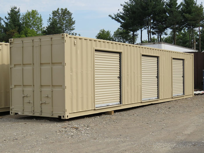 Shipping Container Modification 8' Roll Up Door 3- TargetBox Ontario