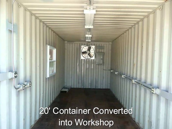 Shipping Container Modification Electrical- TargetBox Ontario